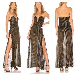 New! LPA Dress 670 in Gold Dot
